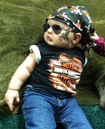 Little Harley Man Homemade Costume