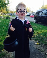 Little Harry Potter Homemade Costume