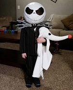 Little Jack Skellington Homemade Costume