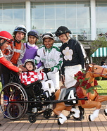 Little Jockey Homemade Wheelchair Costume