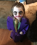 Little Joker Homemade Costume
