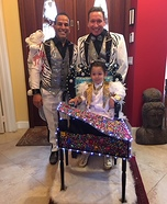Little Liberace and the Siegfried Brothers Homemade Costume