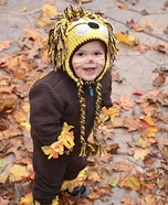 Baby Lion Homemade Halloween Costume