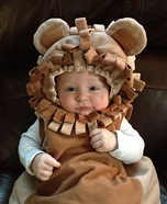 Infant Little Lion Costume