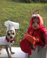 Little Lobster and Chef Costume