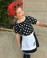 Little Lucy Homemade Costume