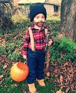 Little Man Lumberjack Homemade Costume
