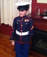 Little Marine Homemade Costume
