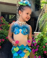 Halloween costume ideas for girls: The Little Mermaid Costume for Girls