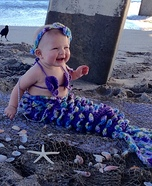 Little Mermaid Baby Costume