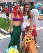 Little Mermaid Homemade Costume