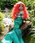Little Mermaid Baby Homemade Costume