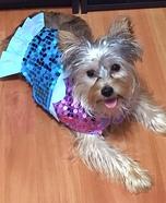Little Mermaid Dog Costume