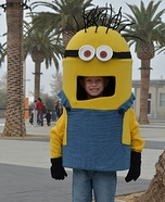 Little Minion Homemade Costume