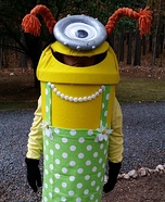 Little Minion Girl's Costume
