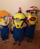 Little Minions Homemade Costume