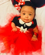 Little Minnie Mouse Baby Costume