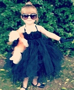 Cutest Halloween costumes for babies - Little Miss Audrey Hepburn Halloween Costume