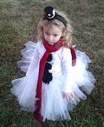 Little Miss Snow Girl Costume