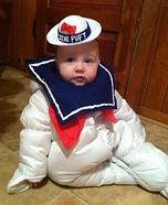 Little Miss Stay Puft Homemade Costume