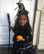 Little Miss Witchy Pooh Homemade Costume