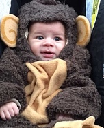 Little Monkey Baby Halloween Costume
