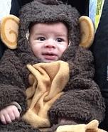 Little Monkey Baby Halloween Costume