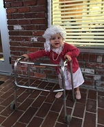 Little 'Ol Granny Homemade Costume