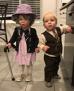 Little Old Couple Homemade Costume