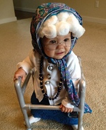 Little Old Granny Baby Costume