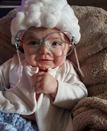 Cute Little Old Lady Baby Costume