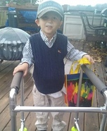 Little Old Man Child Costume