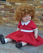 Little Orphan Annie Homemade Costume