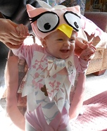 Little Owl Homemade Baby Costume