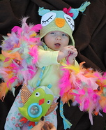 DIY baby costume ideas: Little Owl Costume for Baby