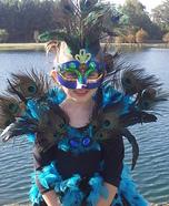 Handmade Peacock Costume
