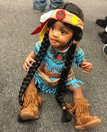 Little Pocahontas Costume