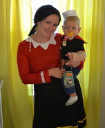 Little Popeye Costume