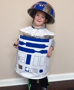 Little R2D2 Homemade Costume