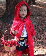 Little Red Ridding Hood Homemade Costume