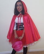 Little Red Ridding Hood Homemade Costume