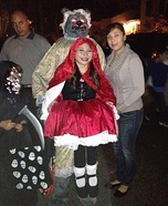 Little Red Riding Hood Illusion Costume