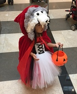 Little Red Riding Hood Homemade Costume