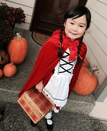 Little Red Riding Hood Girl's Costume