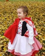 Little Red Riding Hood Homemade Costume