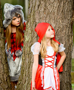 Little Red Riding Hood and the Big Bad Wolf Kids Costume