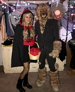 Little Red Riding Hood and the Big Bad Wolf Couple Halloween Costume