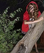 Little Red Riding Hood Attacked Homemade Costume