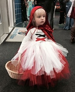 Little Red Riding Hood Girl's Homemade Costume