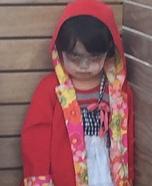 Little Red Riding Hood Vampire Homemade Costume